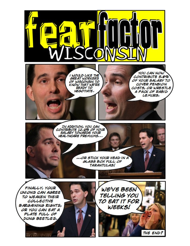 Fear Factor:  Wisconsin