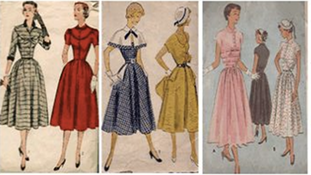 Why 50's Vintage Clothes Never Fit