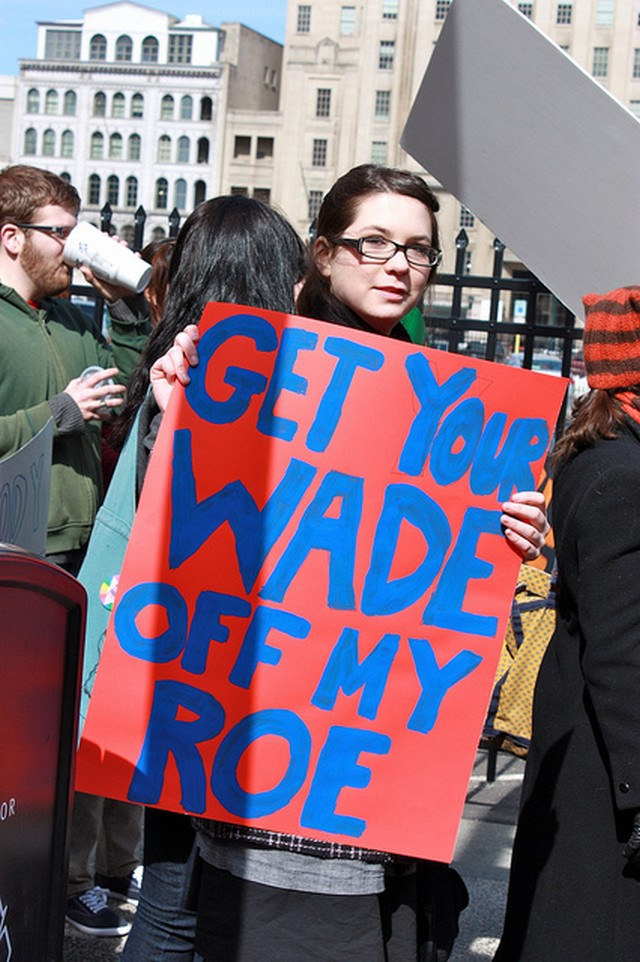 Pro Choice Walk Brings Out Voices For Women's Rights, Hilarious Signs