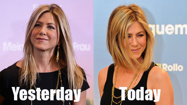 Breaking: Jennifer Aniston Chops Famous Locks