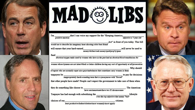 Anti-Woman Legislation Mad Libs, Now In Handy Printout Form!