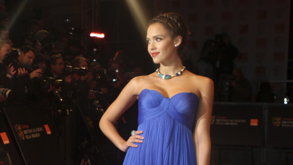 Jessica Alba's Feeling Blue