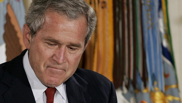 George W. Bush Cancels A Vacation (For Once)