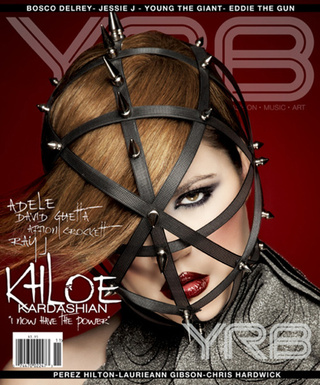 A Heavily Photoshopped Khloe Kardashian Does Most Random, Bondage-y, Fashion Cover Ever