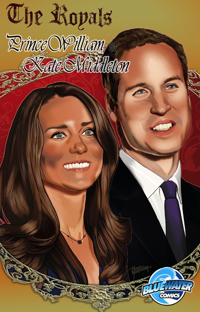 Kate & William Comic Book Needs More Radioactive Spiders