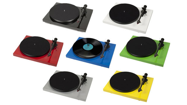 Click here to read Pro-ject's Colorful Turntables Please Your Eyes <em>and</em> Your Ears