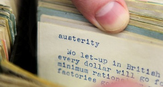"""Austerity"" Is The Word Of The Year"