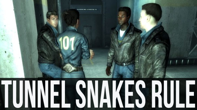 Fallout 3's Tunnel Snakes Rule, and So Does This Amazing Classic Remix