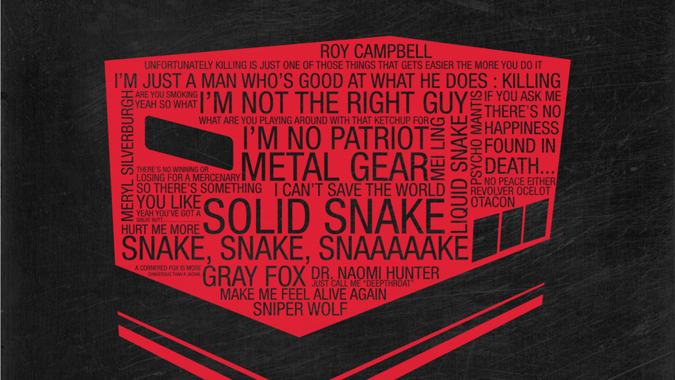 Typographic Prints Make Art From Gamers Favorite Quips