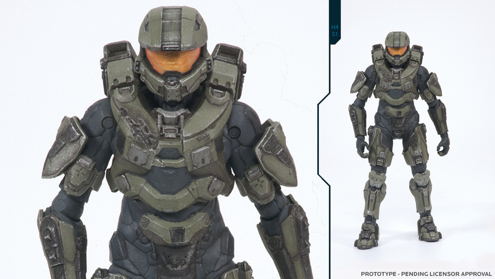 Your First Good Look at <em>Halo 4's</em> Master Chief Comes From...an Action Figure