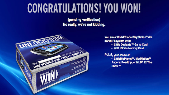This Taco Bell PlayStation Vita Contest Seems A Little Weird [UPDATE]