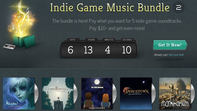 Get Five Amazing Game Soundtracks For as Little as $1