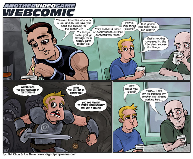 Sunday Comics: Point of Reference