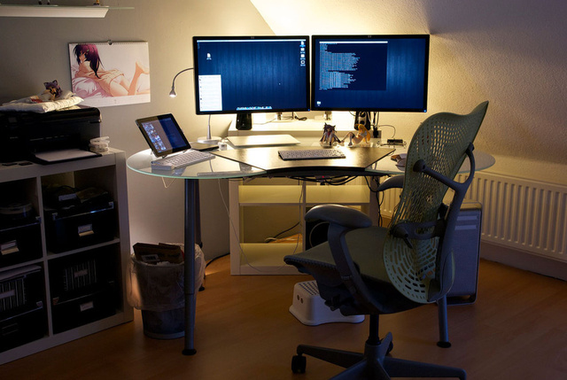 Is This the Perfect Otaku Office?