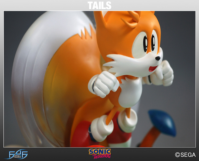 "Miles ""Tails"" Prowler Finally Gets His Due as a First 4 Figures Sonic Statue"
