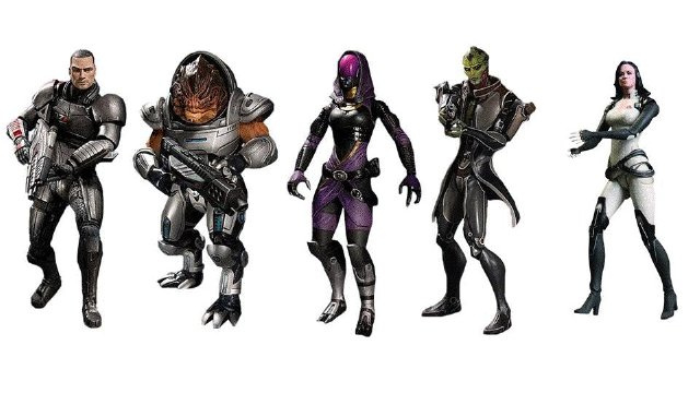 Mass Effect Figures Will Set a Record for Most Expensive DLC