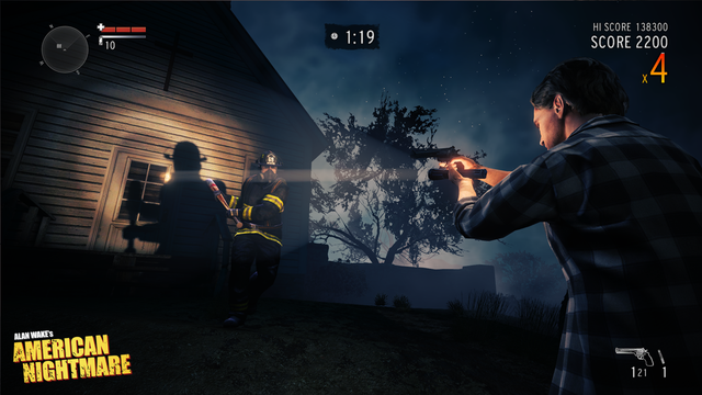Alan Wake:  Now With The Sweet Horde Mode You Never Asked For