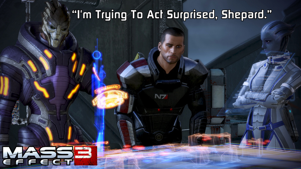 Surprise Surprise, Mass Effect 3 Requires Origin, Won't Launch On Steam