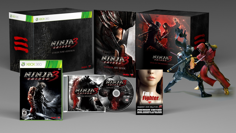 Here's What You Get For Pre-Ordering <em>Ninja Gaiden 3</em>