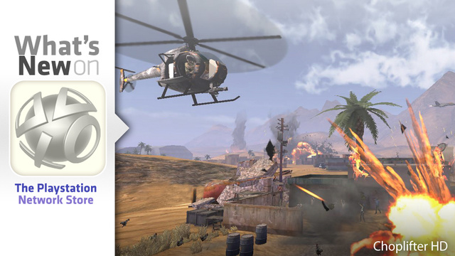 Choplifter HD, Asura's Wrath Demo New This Week on the PlayStation Store