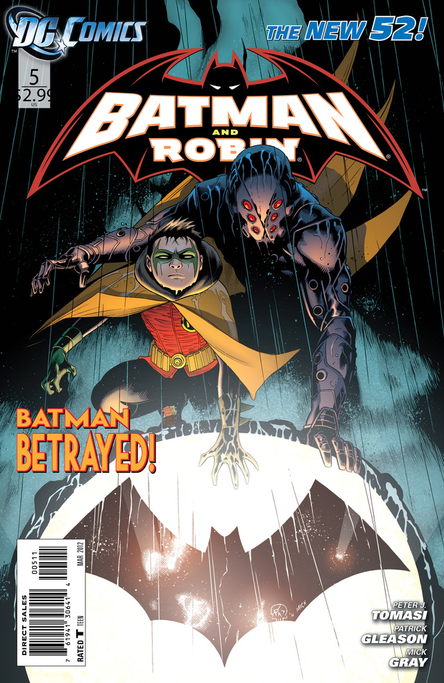 Batman's Kill-Crazy Son Runs Away in This Batman & Robin #5 Preview