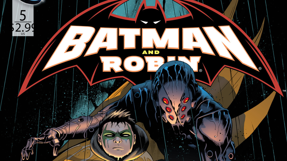 Batman's Kill-Crazy Son Runs Away in This <em>Batman & Robin</em> #5 Preview