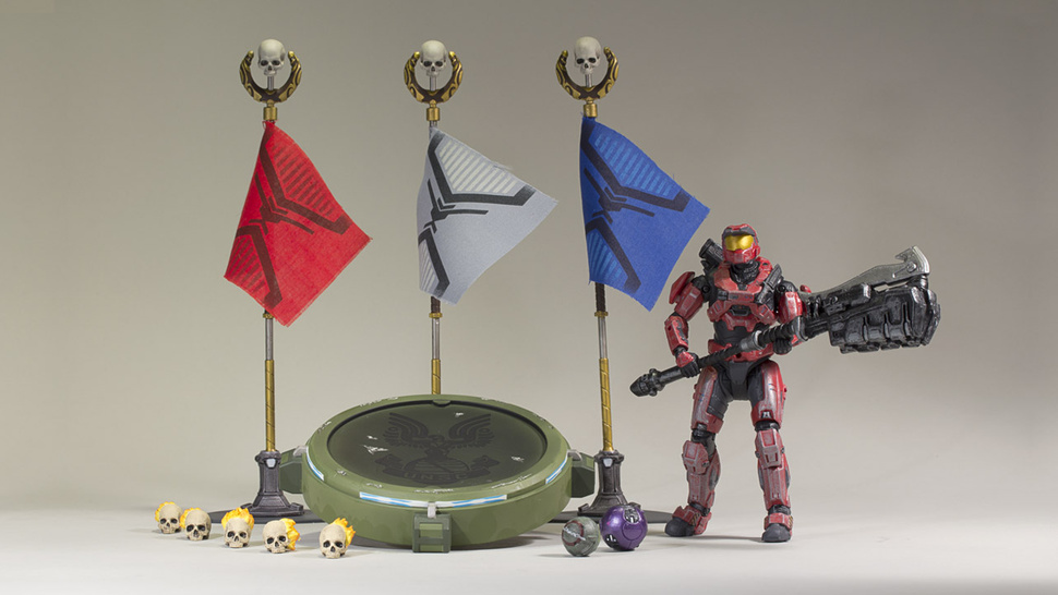 New <em>Halo: Reach</em> Figures Capture Tiny Little Flags