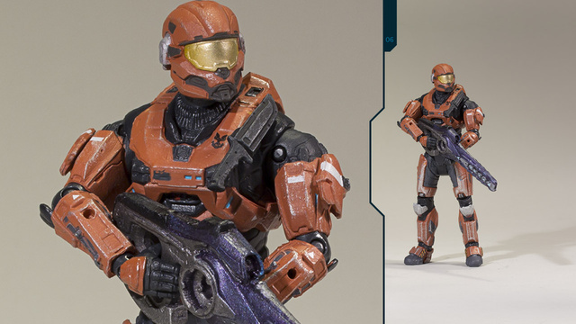 New Halo: Reach Figures Capture Tiny Little Flags