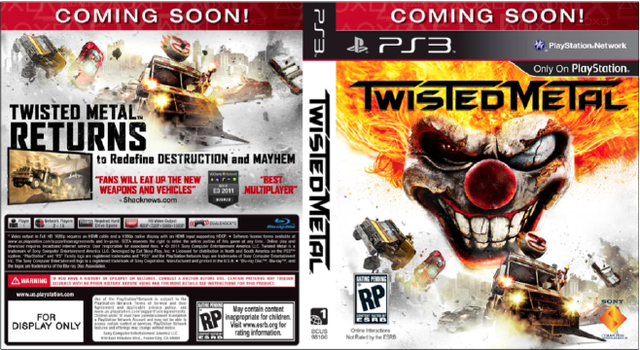 Twisted Metal Creator Reveals the Tentative Cover Art, and has a Special Message for Racists