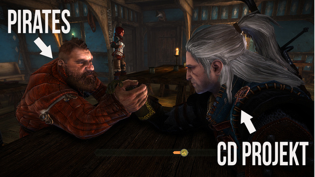 CD Projekt Red and Pirates