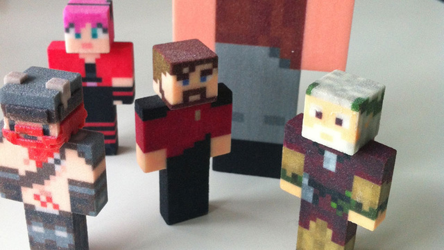 Minecraft Action Figures Might Be Unofficial, Still Look Great