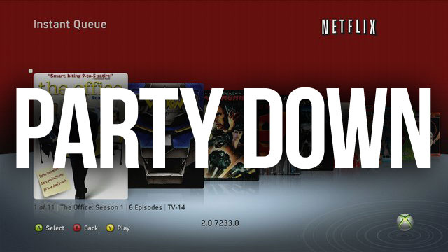 Say Goodbye to Netflix's Party Mode on the Xbox 360
