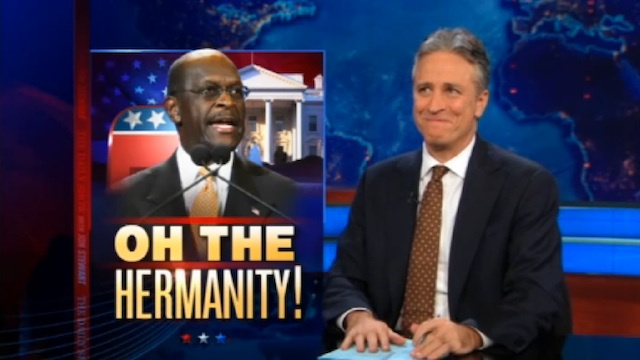 The Daily Show Proposes Other Pokemon Dialogue For Former GOP Presidential Candidate Herman Cain