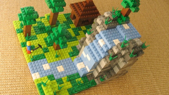 There Might Be Official Minecraft LEGO