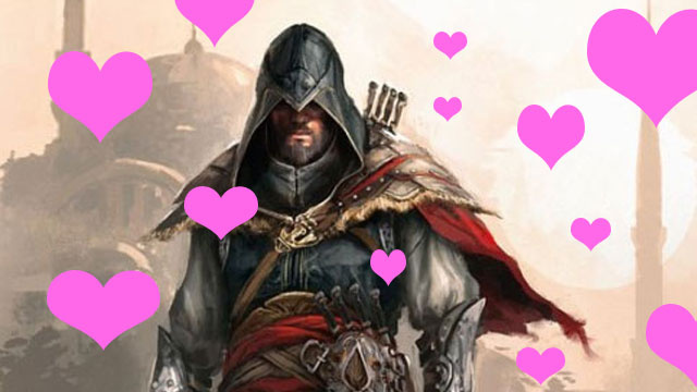 Ezio Is Trolling Dating Sites. He's Very Good.