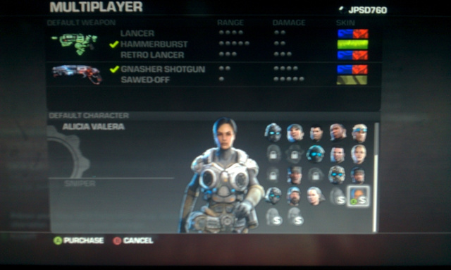Get a Sneak Peek at Gears of War 3's New Multiplayer Characters