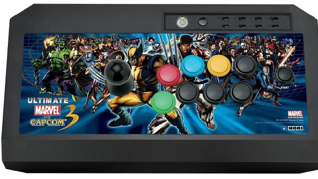 Hori's Bringing an Ultimate Marvel vs. Capcom Fight Stick, Don't Worry