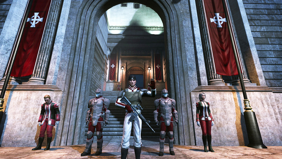 <em>The Secret World</em>'s Templars Want to Punch Evil Right in the Junk