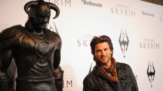 Hollywood's Skyrim Party. This Is It