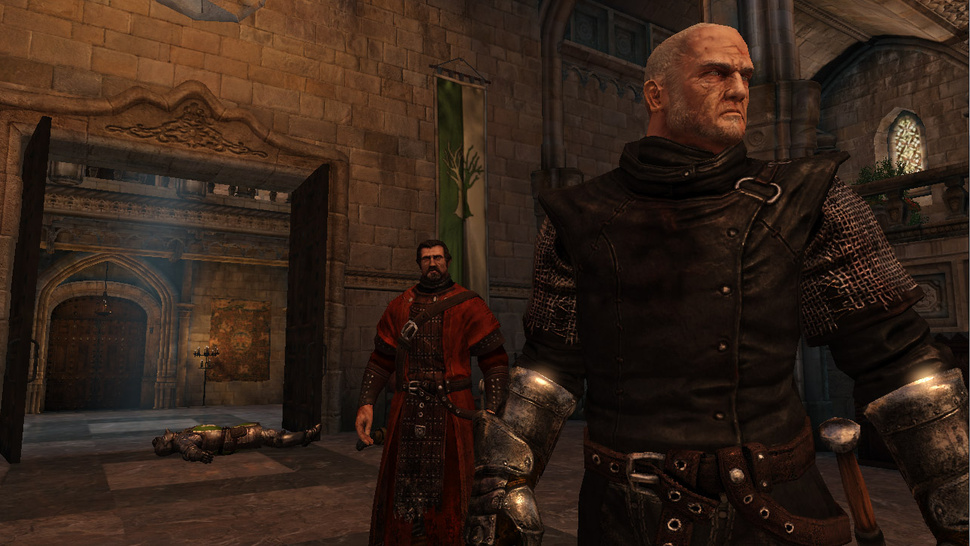 Take the Black in the First Screens from the <em>Game of Thrones</em> Action RPG