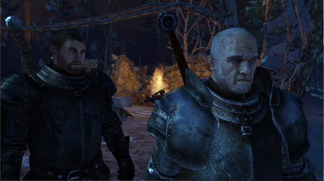 Take the Black in the First Screens from the Game of Thrones Action RPG