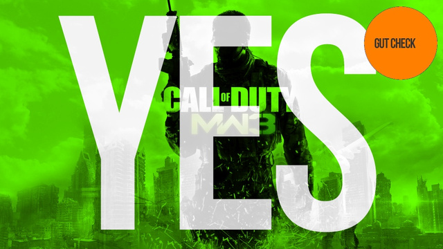 Should You Buy Call of Duty: Modern Warfare 3? Yes.