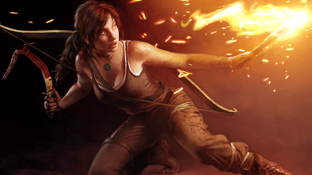Put Some Tomb Raider Art on Your Chest for a Good Cause