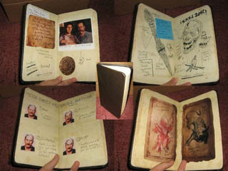 Nathan Drake's Notebook is for Sale on eBay