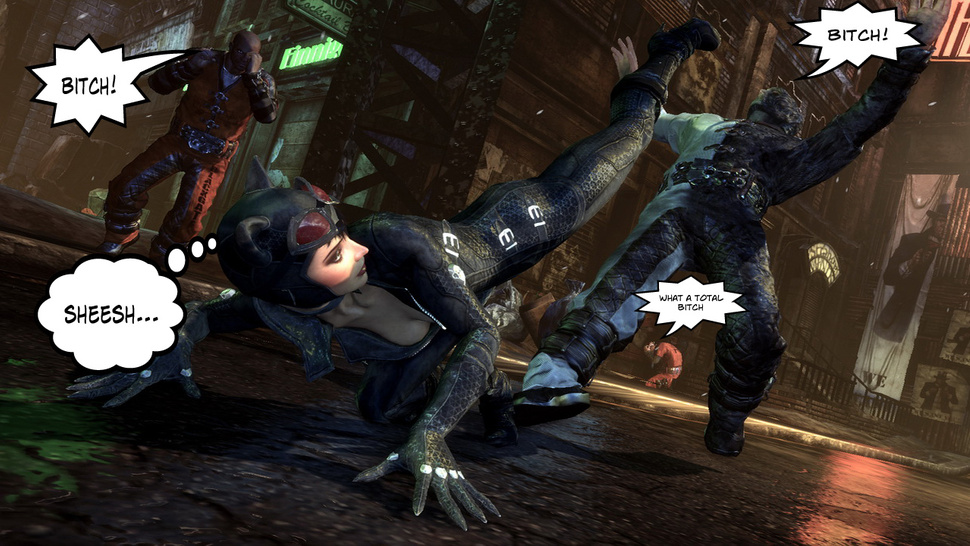 "<em>Batman: Arkham City</em>'s Weird ""Bitch"" Fixation"