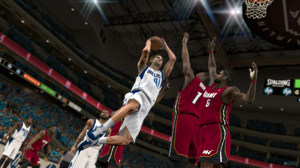 <em>NBA 2K12</em> Works Overtime on a Problem with Roots in the Dreamcast