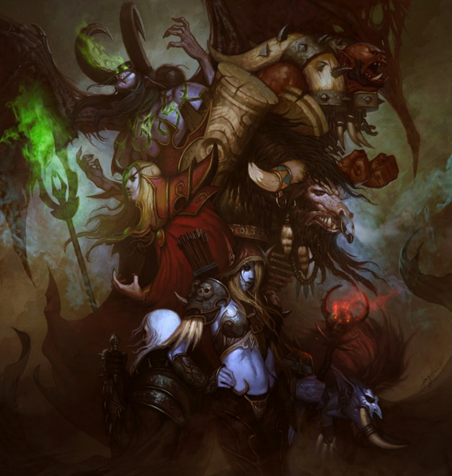 The Best Blizzard Fan Art of 2011