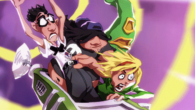 Yo, It's Day of the Tentacle, and it's Flashing