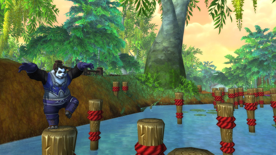 One Hour in the Paws of a <em>World of Warcraft</em> Pandaren Monk