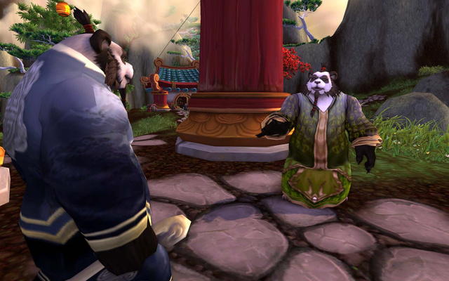 The First Fluffy Screens of World of Warcraft's Mists of Pandaria